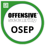 OSEP-Offensive-Security-Expert-Penetration-Tester-Badge